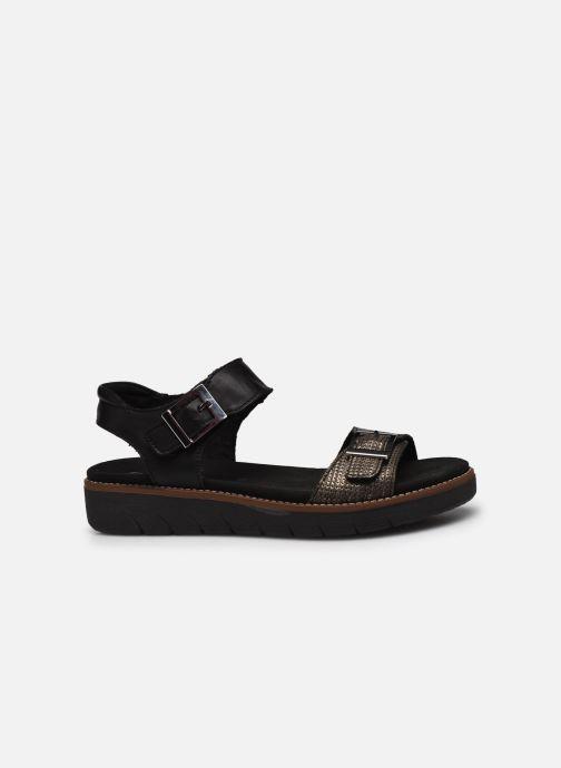 Sandales et nu-pieds Remonte Fane Noir vue derrière