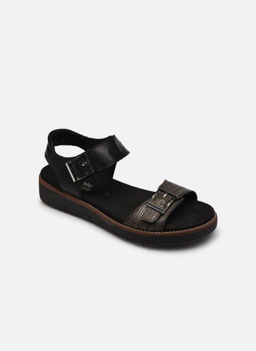 Sandales et nu-pieds Remonte Fane Noir vue détail/paire
