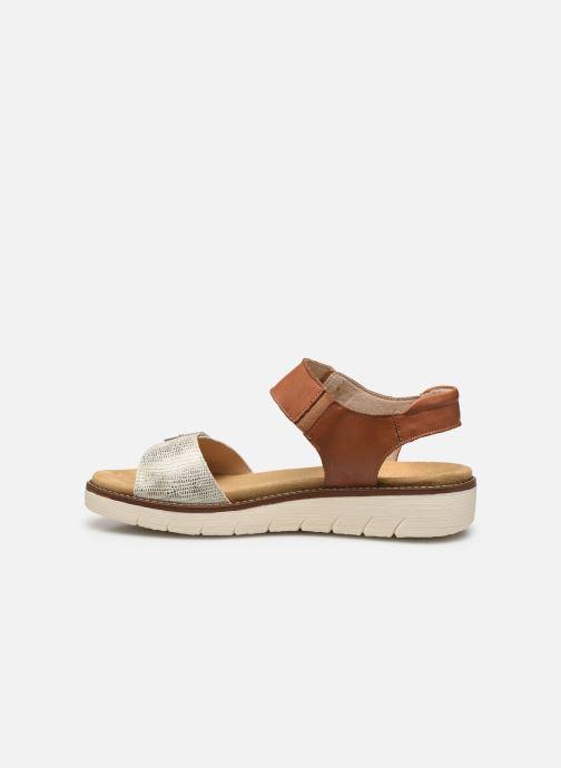 Sandales et nu-pieds Remonte Fane Marron vue face
