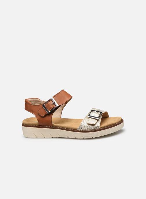 Sandales et nu-pieds Remonte Fane Marron vue derrière