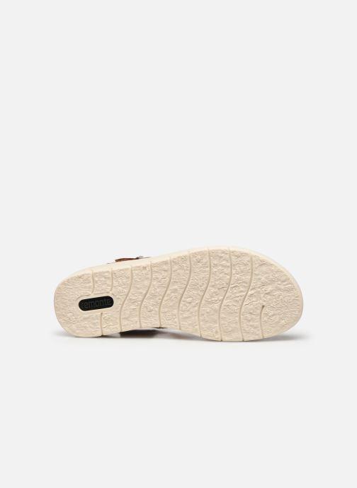 Sandales et nu-pieds Remonte Fane Marron vue haut