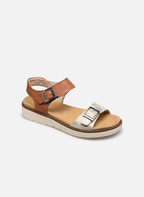Sandales et nu-pieds Remonte Fane Marron vue détail/paire