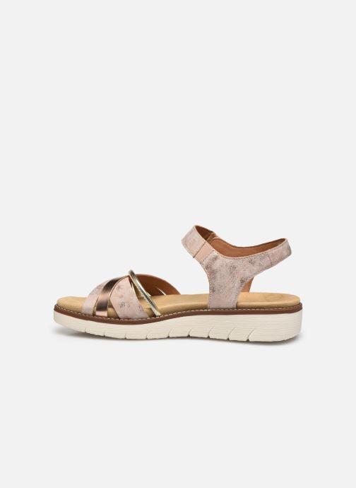 Sandales et nu-pieds Remonte Petre Rose vue face