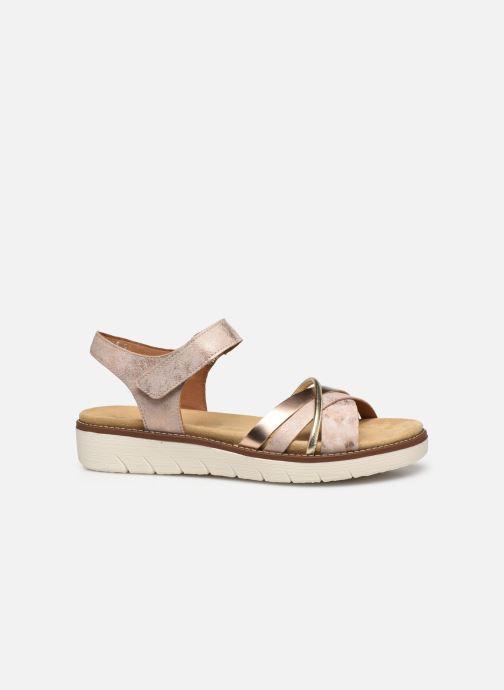 Sandales et nu-pieds Remonte Petre Rose vue derrière
