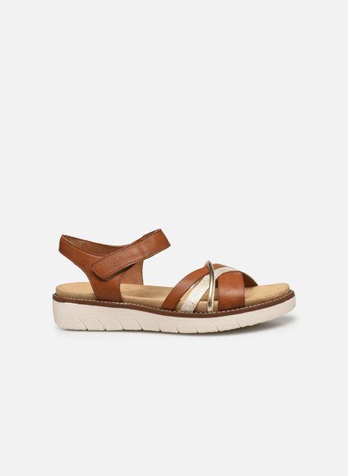 Sandales et nu-pieds Remonte Petre Or et bronze vue derrière