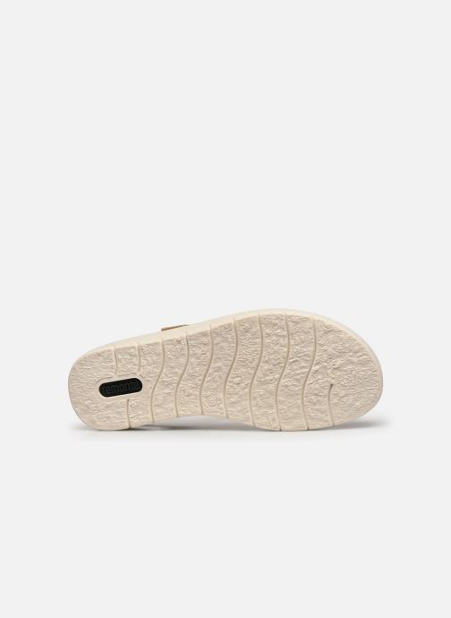 Sandales et nu-pieds Remonte Mihai Or et bronze vue haut