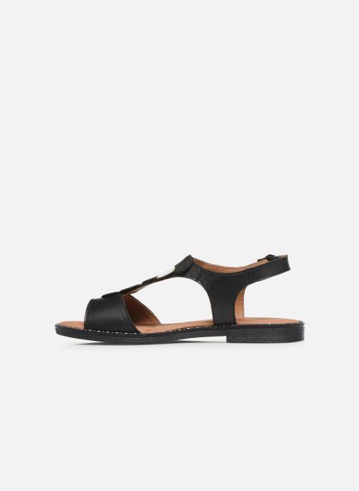 Sandales et nu-pieds Remonte Viorel Noir vue face