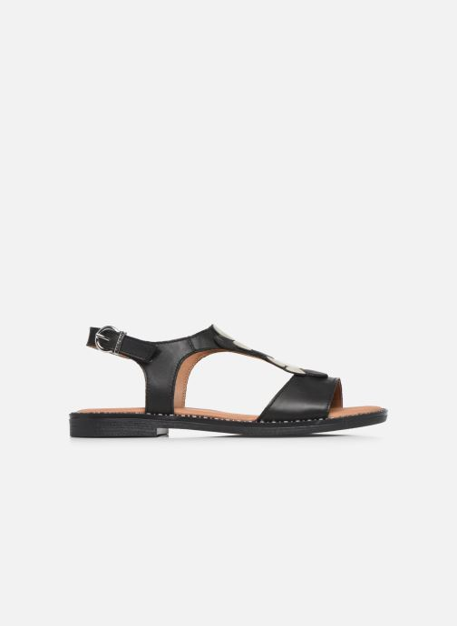 Sandales et nu-pieds Remonte Viorel Noir vue derrière