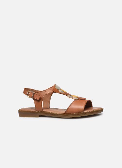 Sandales et nu-pieds Remonte Viorel Marron vue derrière