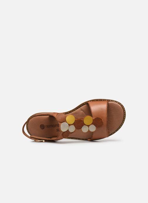 Sandali e scarpe aperte Remonte Viorel Marrone immagine sinistra