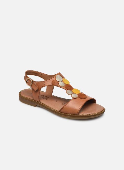 Sandales et nu-pieds Remonte Viorel Marron vue détail/paire