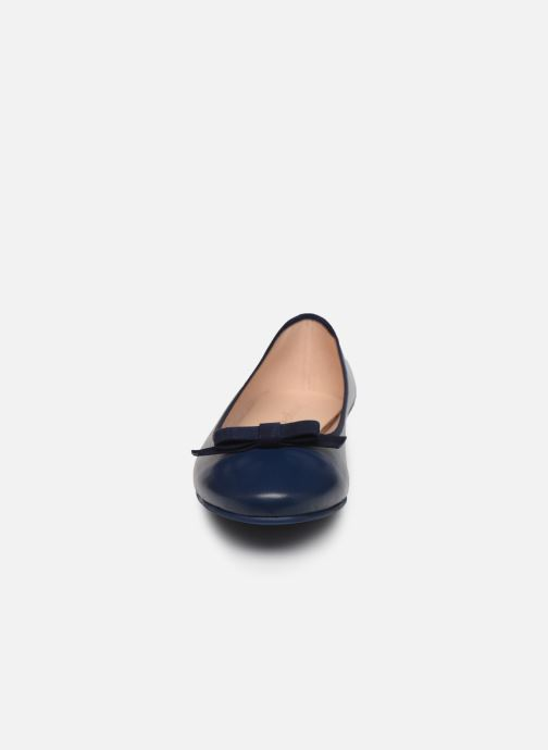 Ballerines Georgia Rose Sonoeud Bleu vue portées chaussures