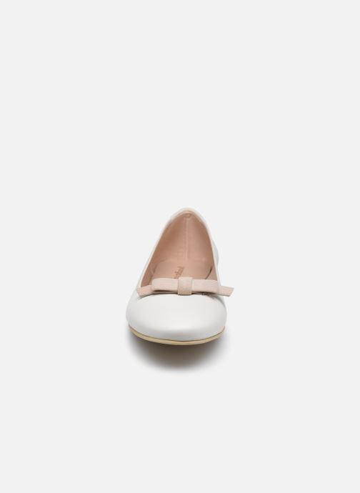 Ballerines Georgia Rose Sonoeud Blanc vue portées chaussures