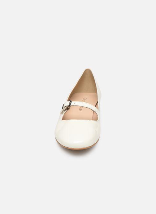 Ballerines Georgia Rose Sababies Blanc vue portées chaussures