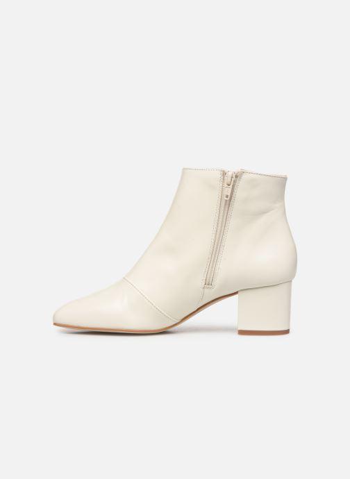 Bottines et boots Georgia Rose Sussima Blanc vue face