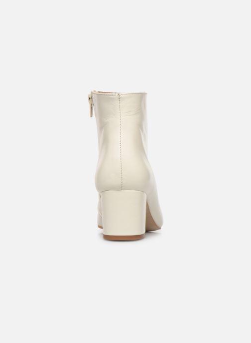 Bottines et boots Georgia Rose Sussima Blanc vue droite