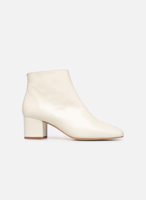 Bottines et boots Georgia Rose Sussima Blanc vue derrière