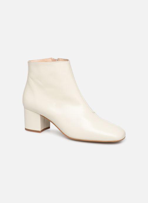 Bottines et boots Georgia Rose Sussima Blanc vue détail/paire