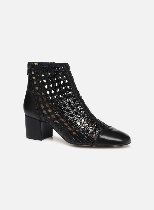 Bottines et boots Georgia Rose Sussino Noir vue détail/paire
