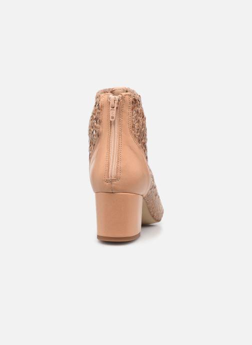 Bottines et boots Georgia Rose Sussino Beige vue droite
