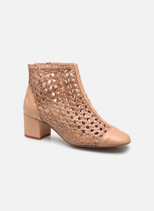 Bottines et boots Georgia Rose Sussino Beige vue détail/paire