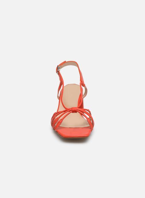 Sandales et nu-pieds Georgia Rose Sapouna Orange vue portées chaussures