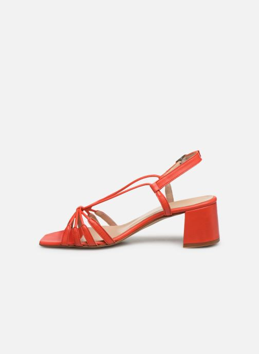 Sandales et nu-pieds Georgia Rose Sapouna Orange vue face