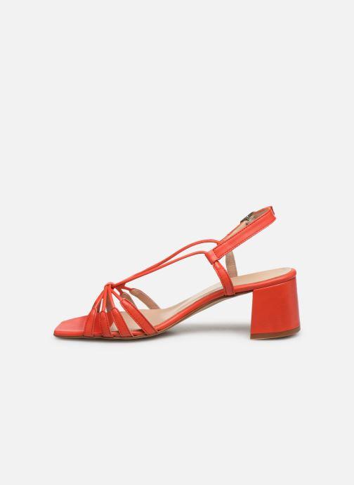 Sandali e scarpe aperte Georgia Rose Sapouna Arancione immagine frontale