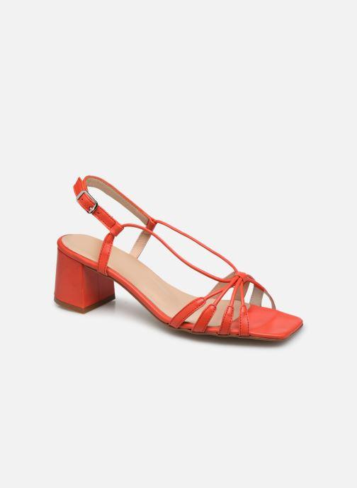 Sandales et nu-pieds Georgia Rose Sapouna Orange vue détail/paire