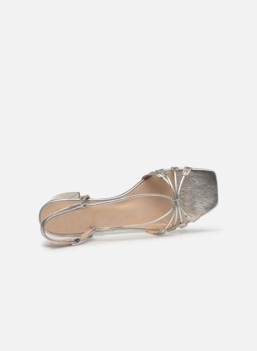 Sandali e scarpe aperte Georgia Rose Sapouna Argento immagine sinistra