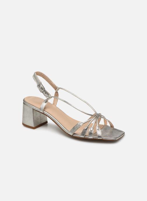 Sandales et nu-pieds Georgia Rose Sapouna Argent vue détail/paire