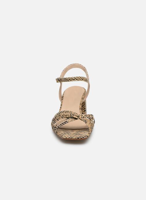 Sandales et nu-pieds Georgia Rose Satipa Beige vue portées chaussures