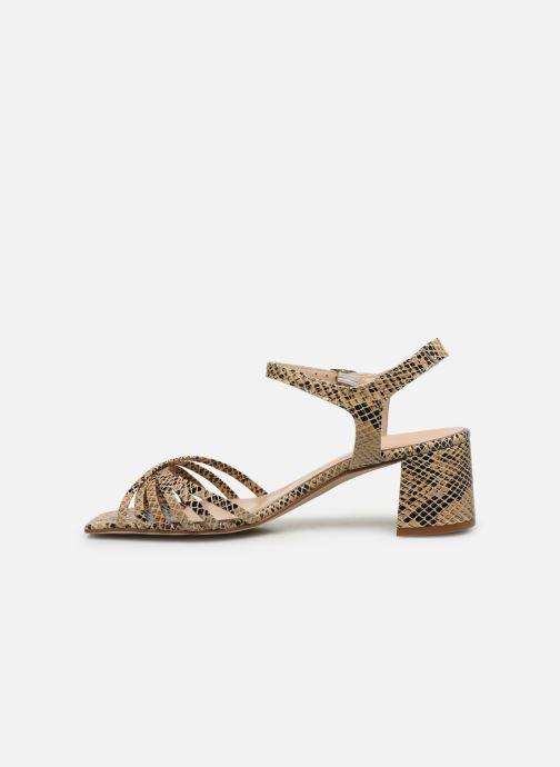Sandales et nu-pieds Georgia Rose Satipa Beige vue face