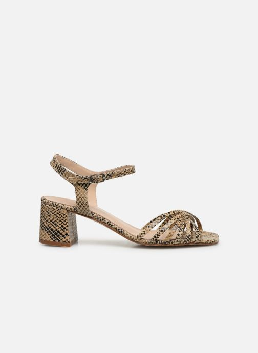 Sandales et nu-pieds Georgia Rose Satipa Beige vue derrière