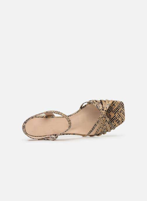 Sandales et nu-pieds Georgia Rose Satipa Beige vue gauche