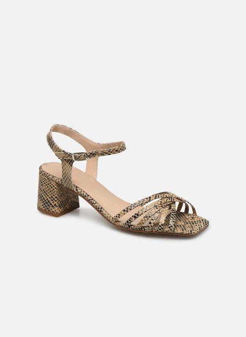 Sandales et nu-pieds Georgia Rose Satipa Beige vue détail/paire