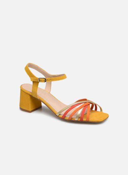 Sandales et nu-pieds Georgia Rose Satipa Jaune vue détail/paire