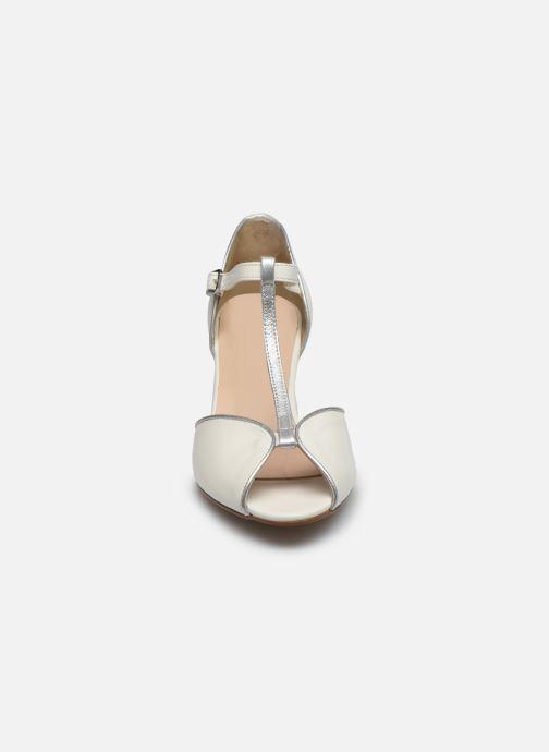 Escarpins Georgia Rose Saminou Blanc vue portées chaussures