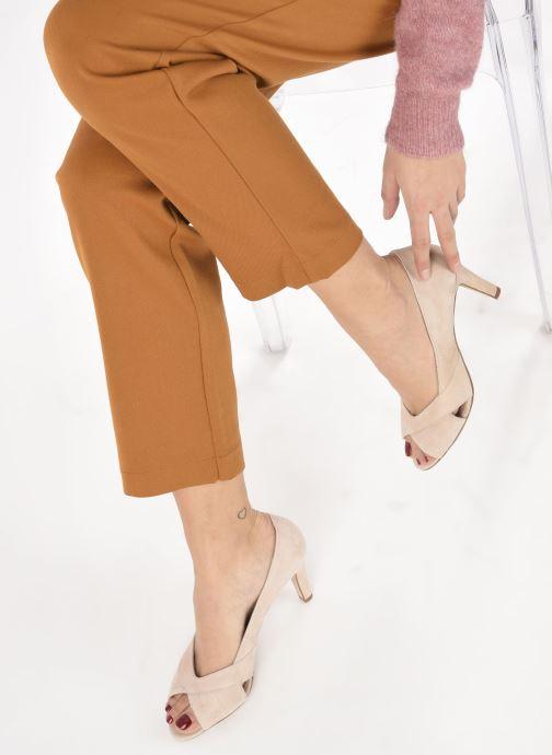 Zapatos de tacón Georgia Rose Sepina Beige vista de abajo