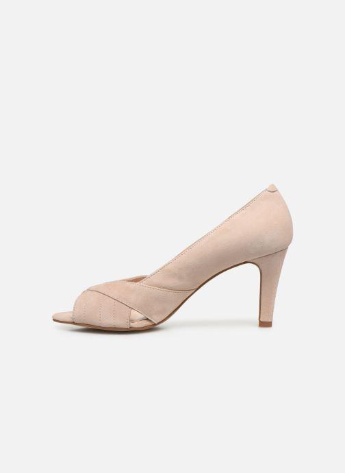 Zapatos de tacón Georgia Rose Sepina Beige vista de frente