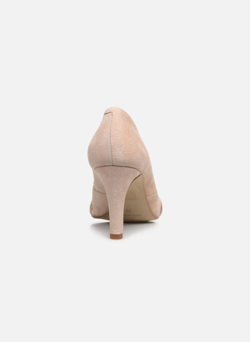 Zapatos de tacón Georgia Rose Sepina Beige vista lateral derecha