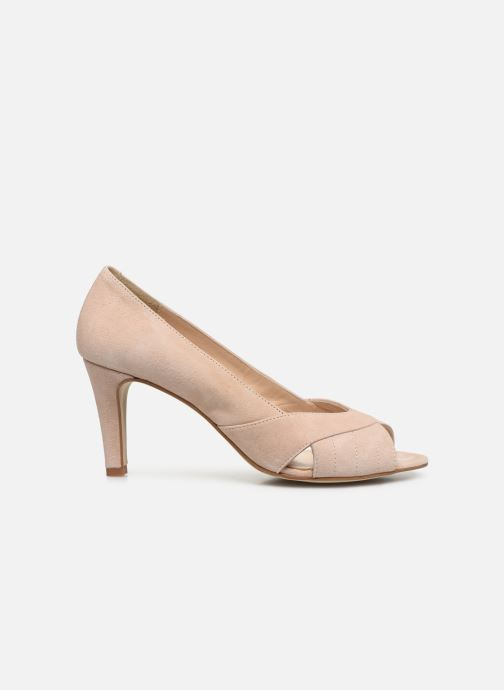 Zapatos de tacón Georgia Rose Sepina Beige vistra trasera