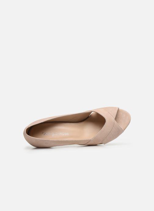 Zapatos de tacón Georgia Rose Sepina Beige vista lateral izquierda