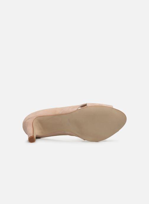 Zapatos de tacón Georgia Rose Sepina Beige vista de arriba