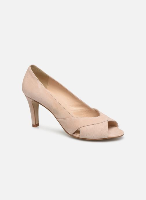 Zapatos de tacón Georgia Rose Sepina Beige vista de detalle / par