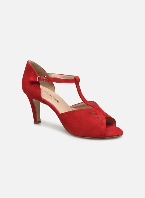 Zapatos de tacón Georgia Rose Setopa Rojo vista de detalle / par
