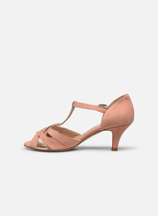 Zapatos de tacón Georgia Rose Semosta Rosa vista de frente