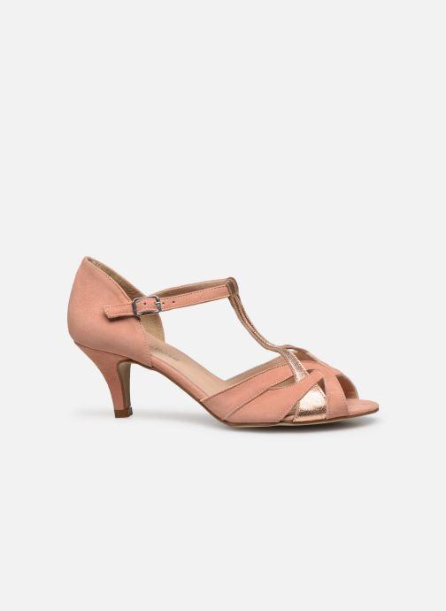 Zapatos de tacón Georgia Rose Semosta Rosa vistra trasera