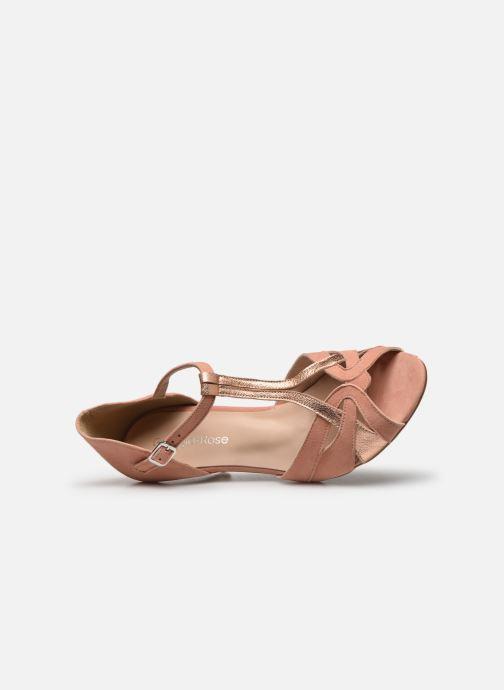 Zapatos de tacón Georgia Rose Semosta Rosa vista lateral izquierda