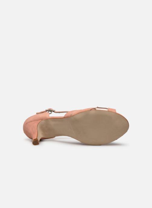 Zapatos de tacón Georgia Rose Semosta Rosa vista de arriba